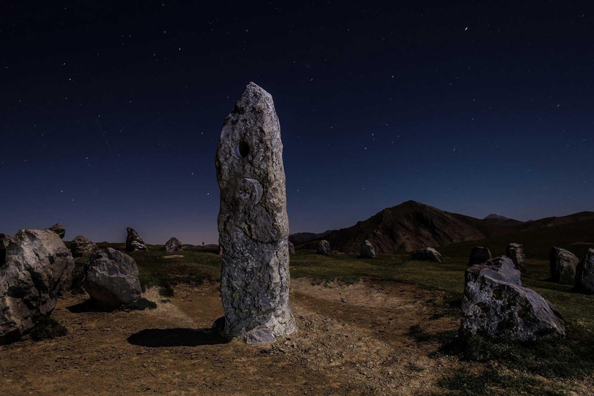 Estación megalítica de Azpegi