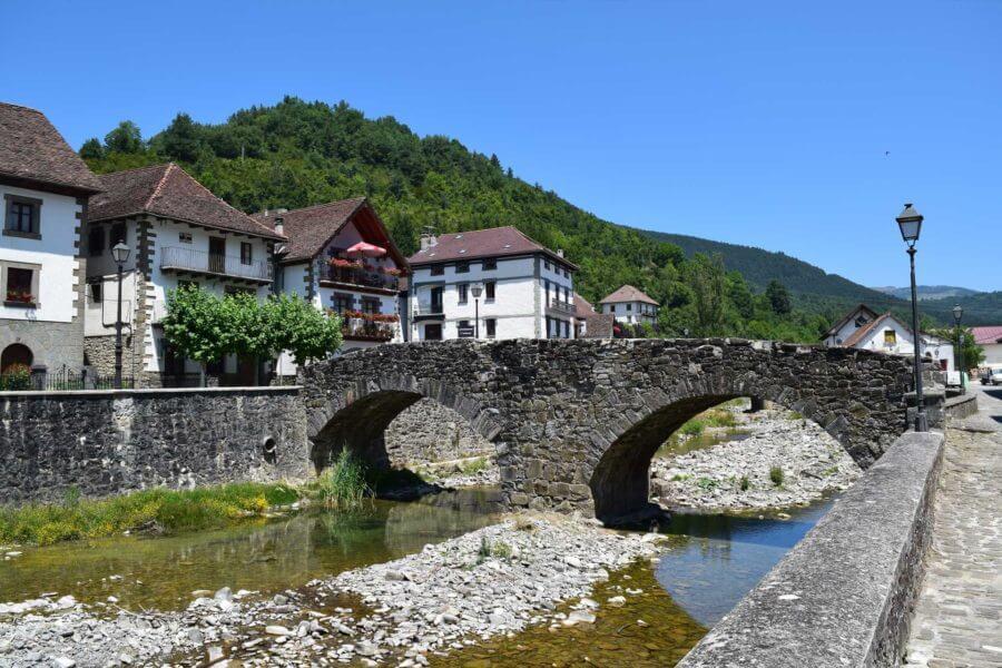 Ochagavía es la fotografía perfecta, es la postal del Pirineo navarro